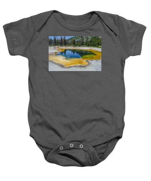 Colors Of Yellowstone Baby Onesie