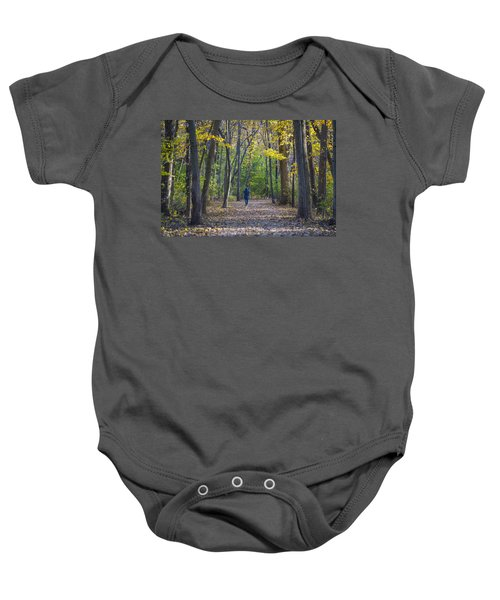 Baby Onesie featuring the photograph Come For A Walk by Sebastian Musial