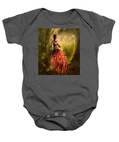 Come To Me In The Moonlight Baby Onesie