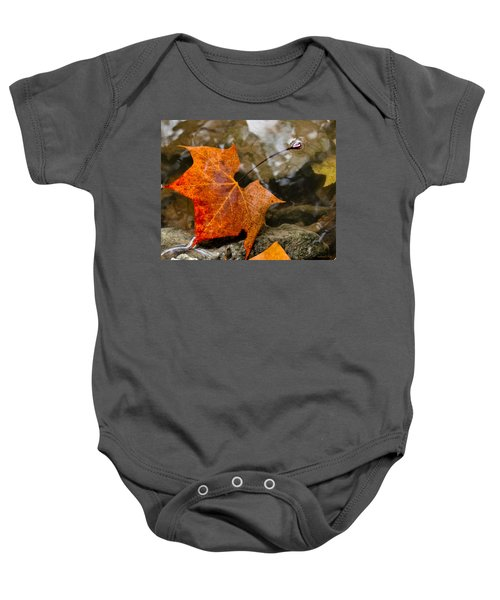 Coming Up For Air Baby Onesie