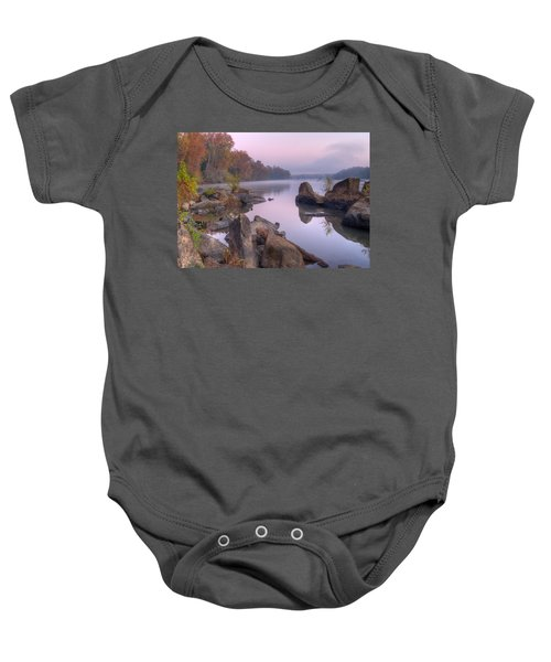 Congaree River At Dawn-1 Baby Onesie