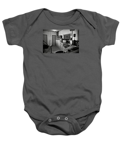 Control Room In Alcatraz Prison Baby Onesie