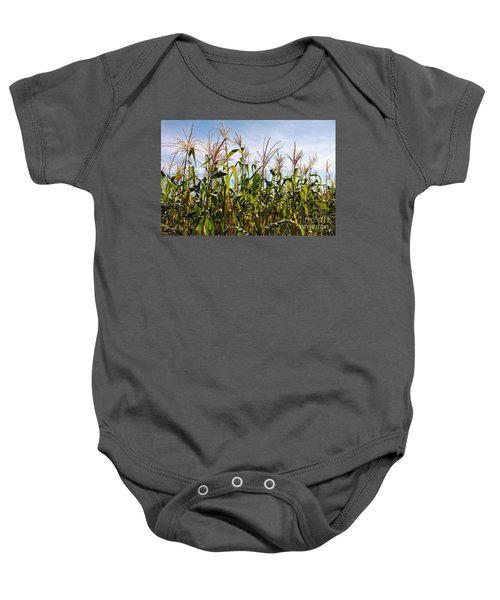 Corn Production Baby Onesie