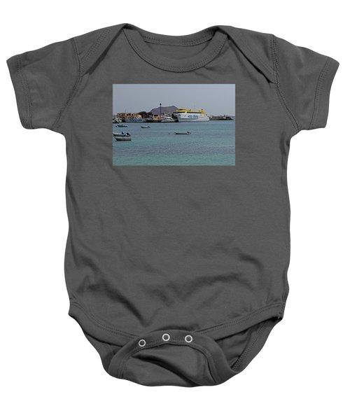 Corralejo Harbour Baby Onesie