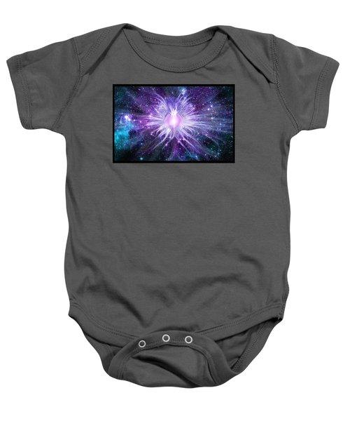 Cosmic Heart Of The Universe Baby Onesie
