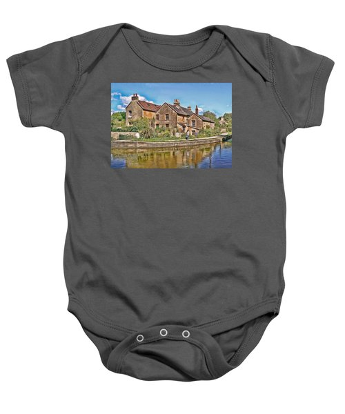 Cottages At Avoncliff Baby Onesie