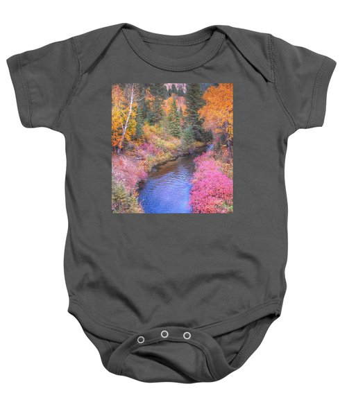 Cotton Candy Creek Baby Onesie