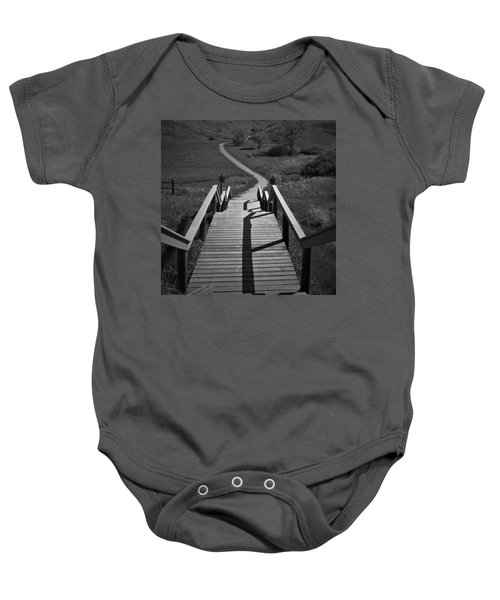 Coulee Stairs Baby Onesie