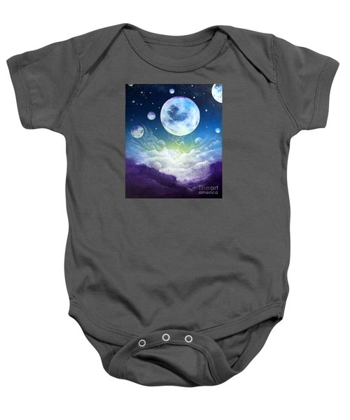 Cradle Of Worlds Baby Onesie