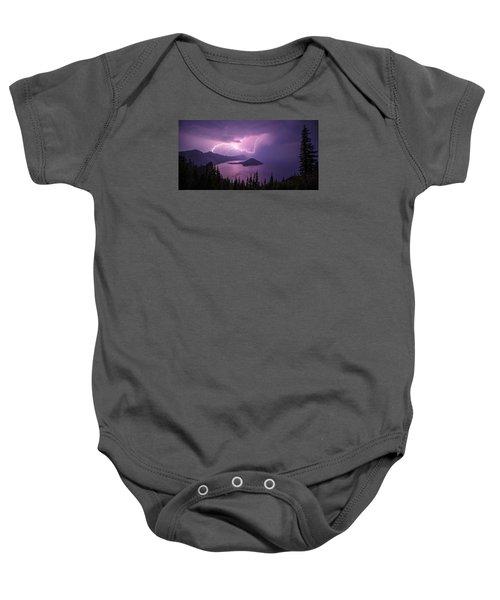 Crater Storm Baby Onesie