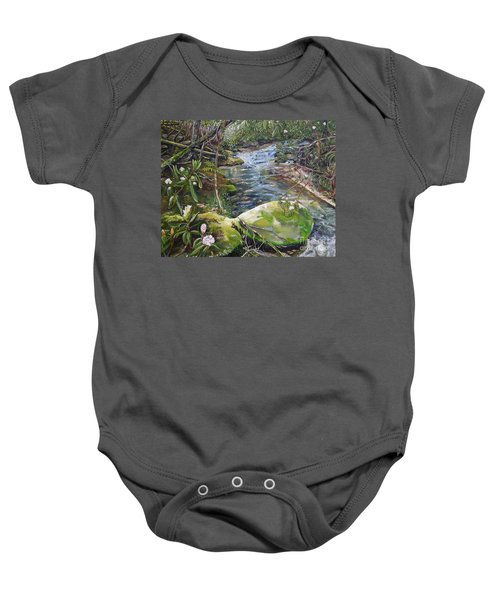 Creek -  Beyond The Rock - Mountaintown Creek  Baby Onesie