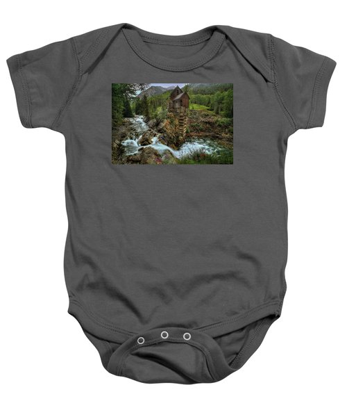 Crystal Mill Riverside Baby Onesie