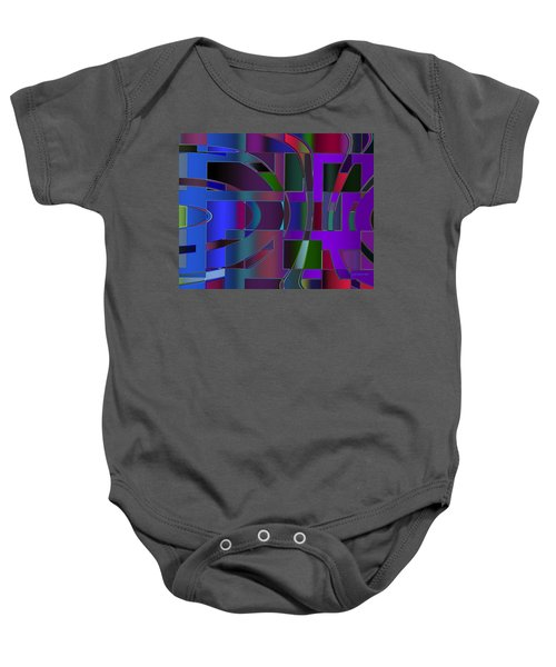 Curves And Trapezoids 2 Baby Onesie