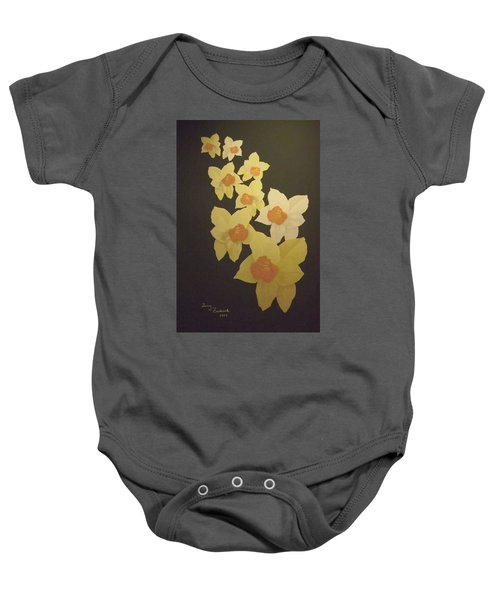Daffodils Baby Onesie