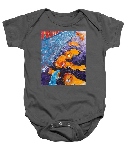 Daniel And The Lions Baby Onesie