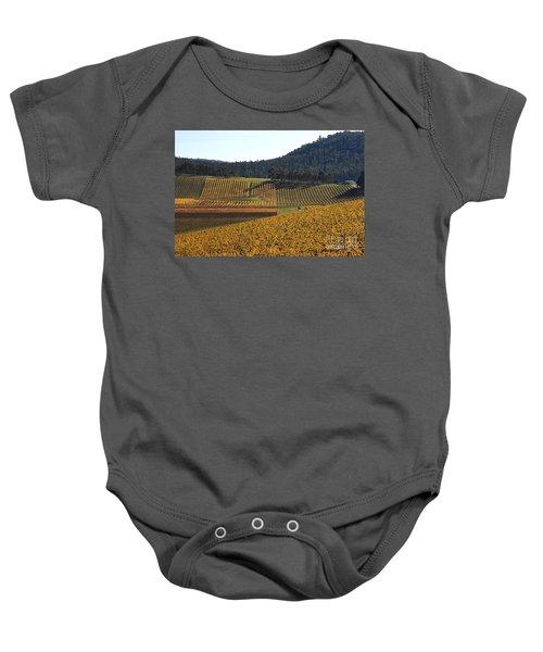 golden vines-Victoria-Australia Baby Onesie