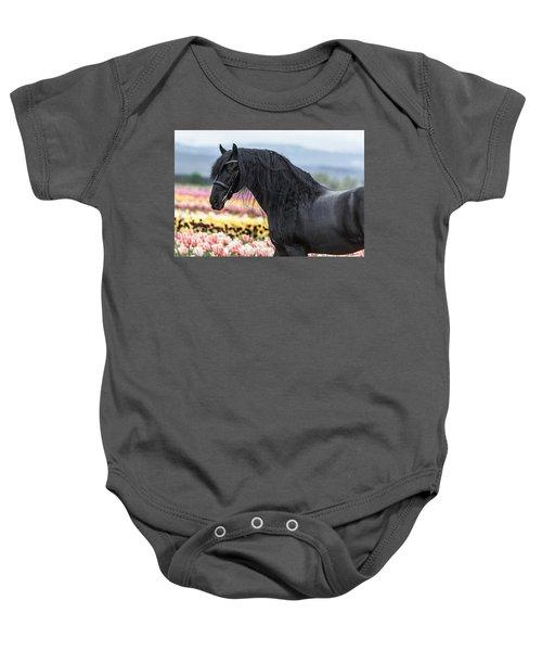 Deep In The Fields Baby Onesie