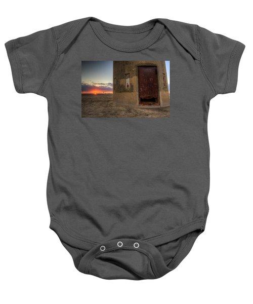 Delaware Lookout Tower Baby Onesie