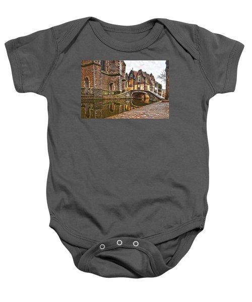 Delft Behind The Church Baby Onesie