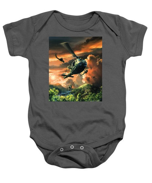 Descent Into The A Shau Valley Baby Onesie