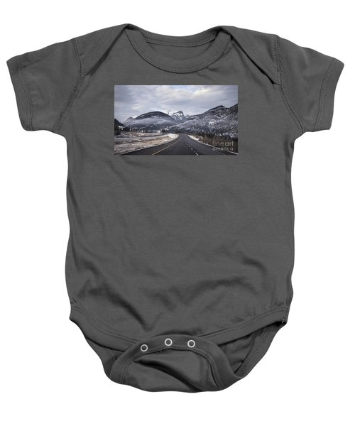 Distance Is Near Baby Onesie