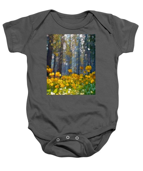 Distorted Dreams By Day Baby Onesie