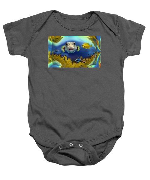 Diver's Perspective Baby Onesie