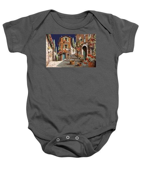 Due Strade Al Mattino Baby Onesie
