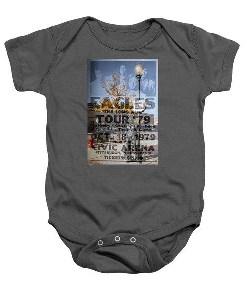 Eagles The Long Run Tour Baby Onesie