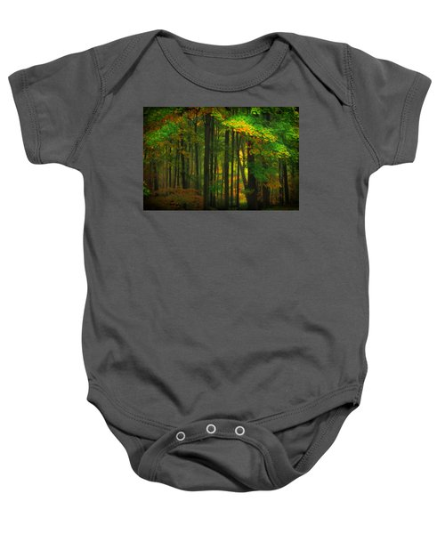 Early Fall 4 Baby Onesie