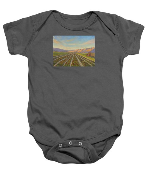 Early Morning Harvest Baby Onesie
