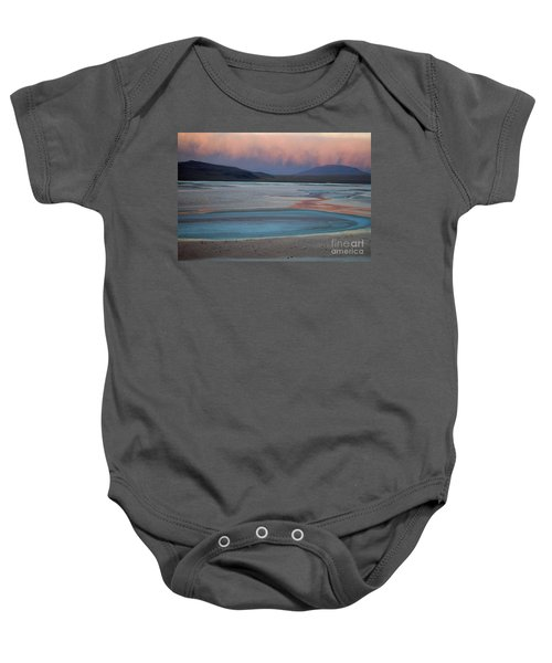 Laguna Colorada - Early Morning Pink Baby Onesie