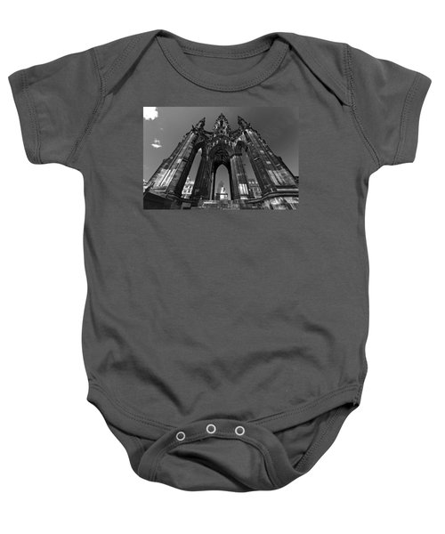 Edinburgh's Scott Monument Baby Onesie