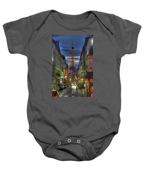 Eiffel Over Paris Baby Onesie