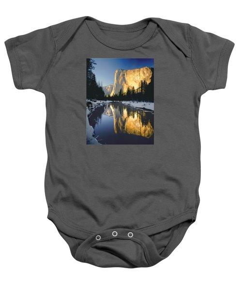 2m6542-el Cap Reflect Baby Onesie