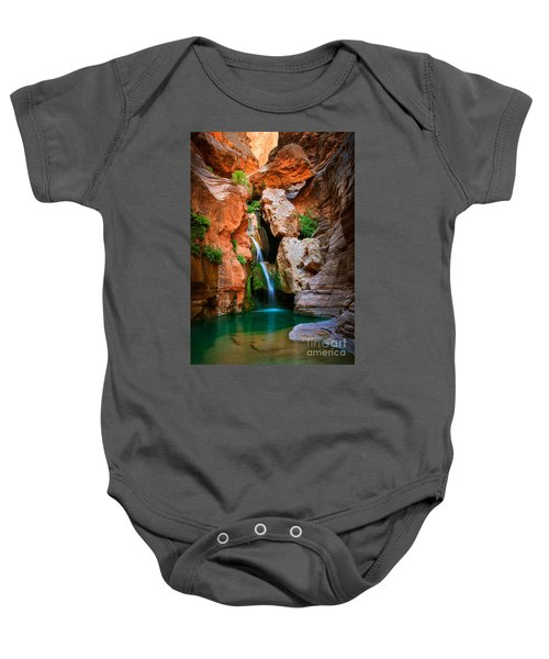 Elves Chasm Baby Onesie by Inge Johnsson