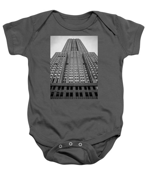 Empire State Of Mind Baby Onesie