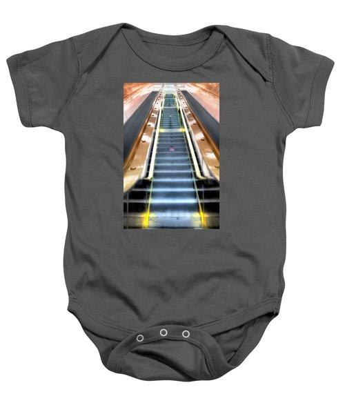 Escalator To Heaven Baby Onesie