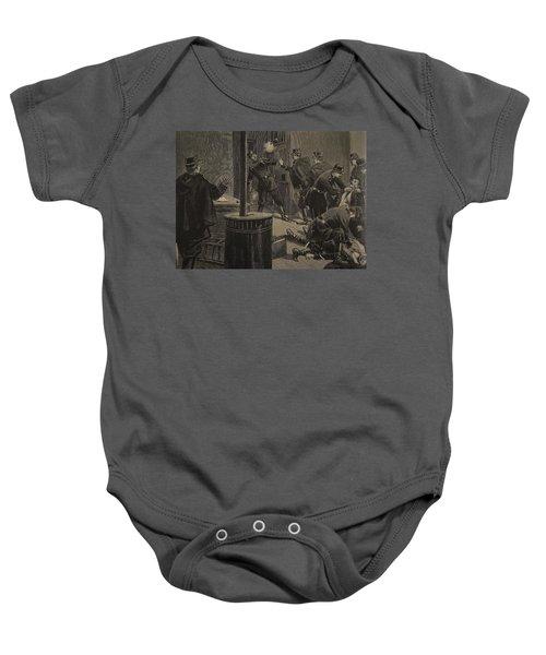 Etievant, The Anarchist Shoots Baby Onesie