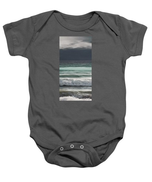 Even Tides Baby Onesie