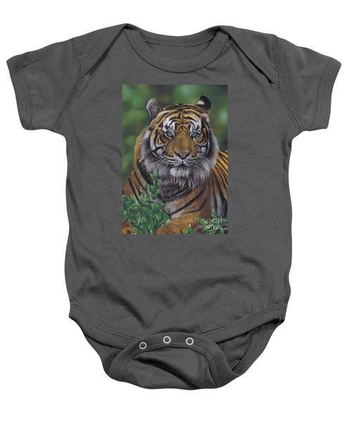 Eye Of The Tiger Baby Onesie