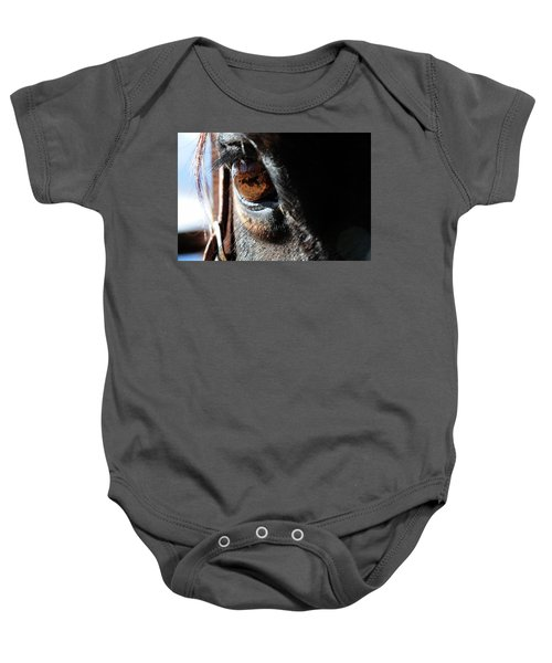 Eyeball Reflection Baby Onesie