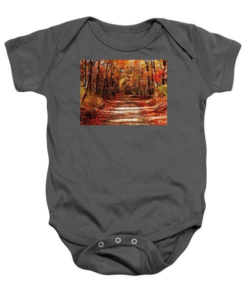 Fall At Cheesequake Baby Onesie