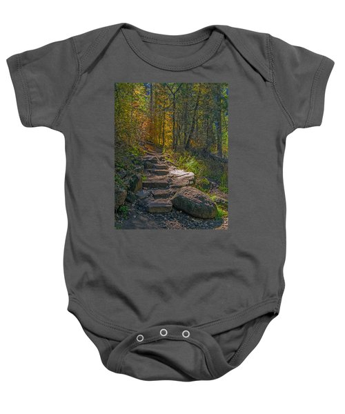 West Fork At Oak Creek Baby Onesie
