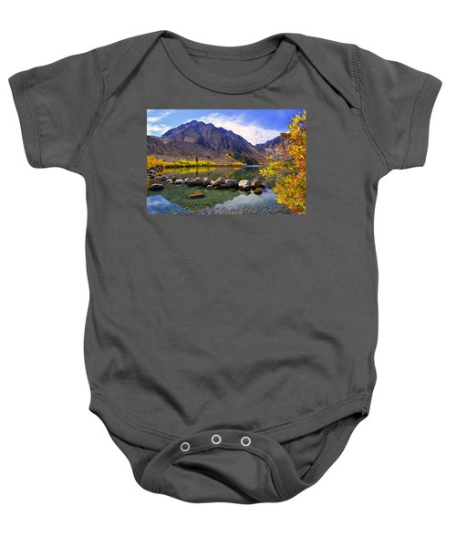 Fall Colors At Convict Lake  Baby Onesie