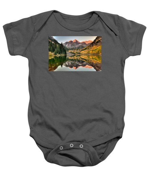Fall N Reflections Baby Onesie