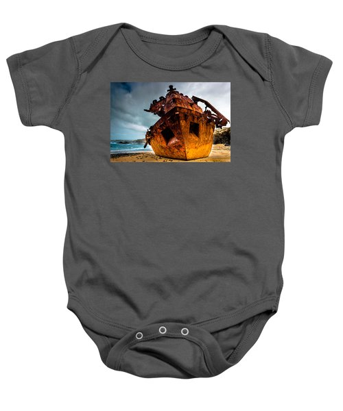 Far From Home Baby Onesie