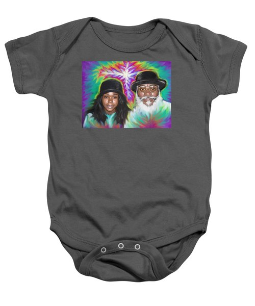 Father And Daughter Spirit Ministry  Baby Onesie