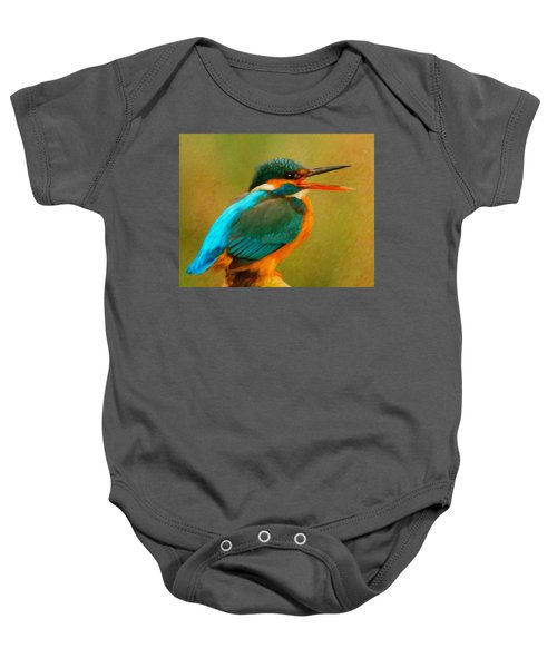 Feathered Friends Baby Onesie