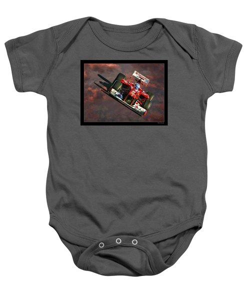 Fernando Alonso Ferrari Baby Onesie